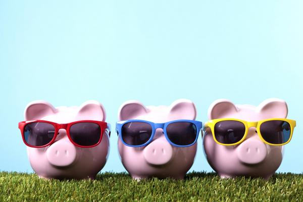 piggy banks for summer savings