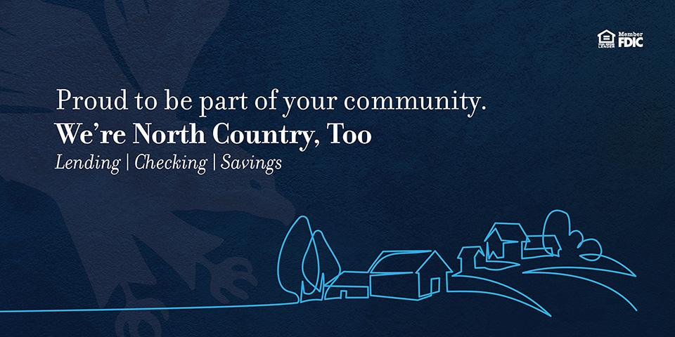 We're North Country, too