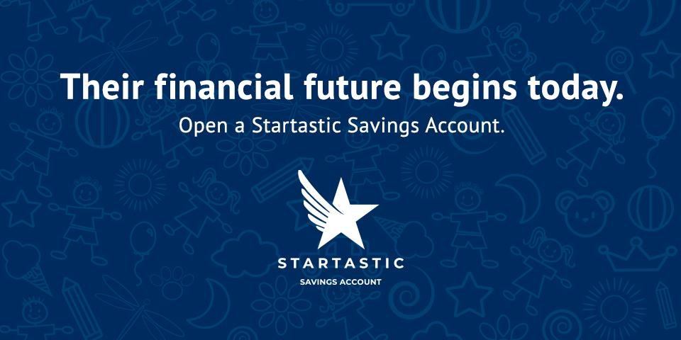 North Country Savings Bank Startastic savings account for kids logo